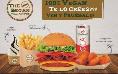 Llega a Valencia The Began, un fast food 100% vegano con servicio a domicilio