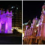 Valencia enciende sus monumentos ornamentales para realzar su valor patrimonial
