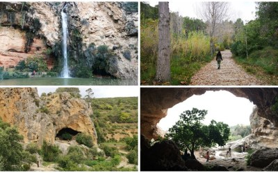 La preciosa ruta del agua de la Hoya de Buñol