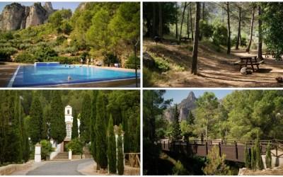 La Saraella de Vallada y su piscina de agua salada natural en el interior de Valencia