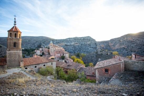La ciudad de Albarracín.