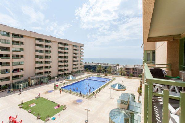 Beach Apartment With Pool In Spain Valencia Flat Rental