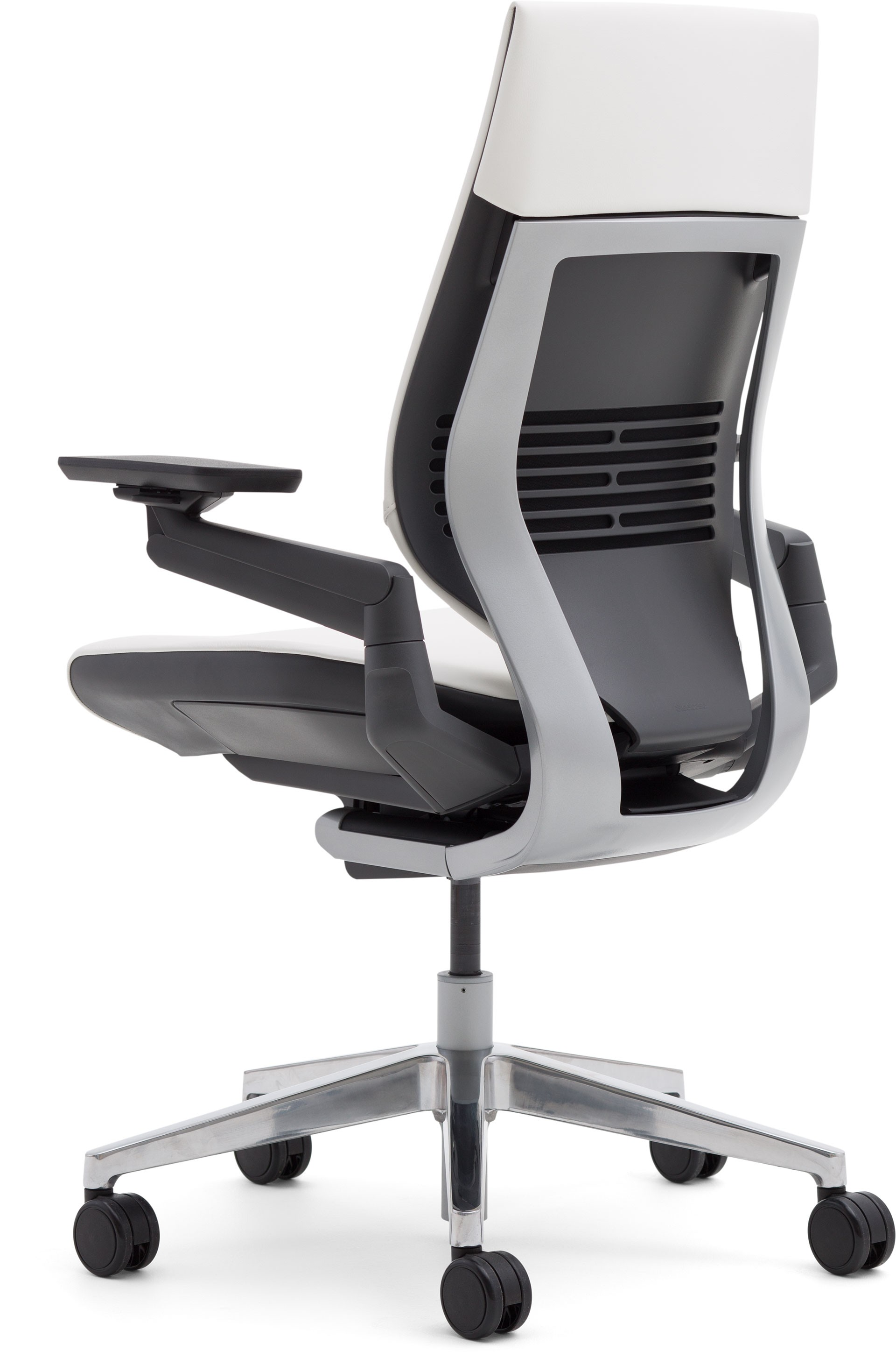 steelcase gesture chair with desk arm office