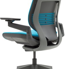 Steelcase Gesture Chair Teal Bungee Office