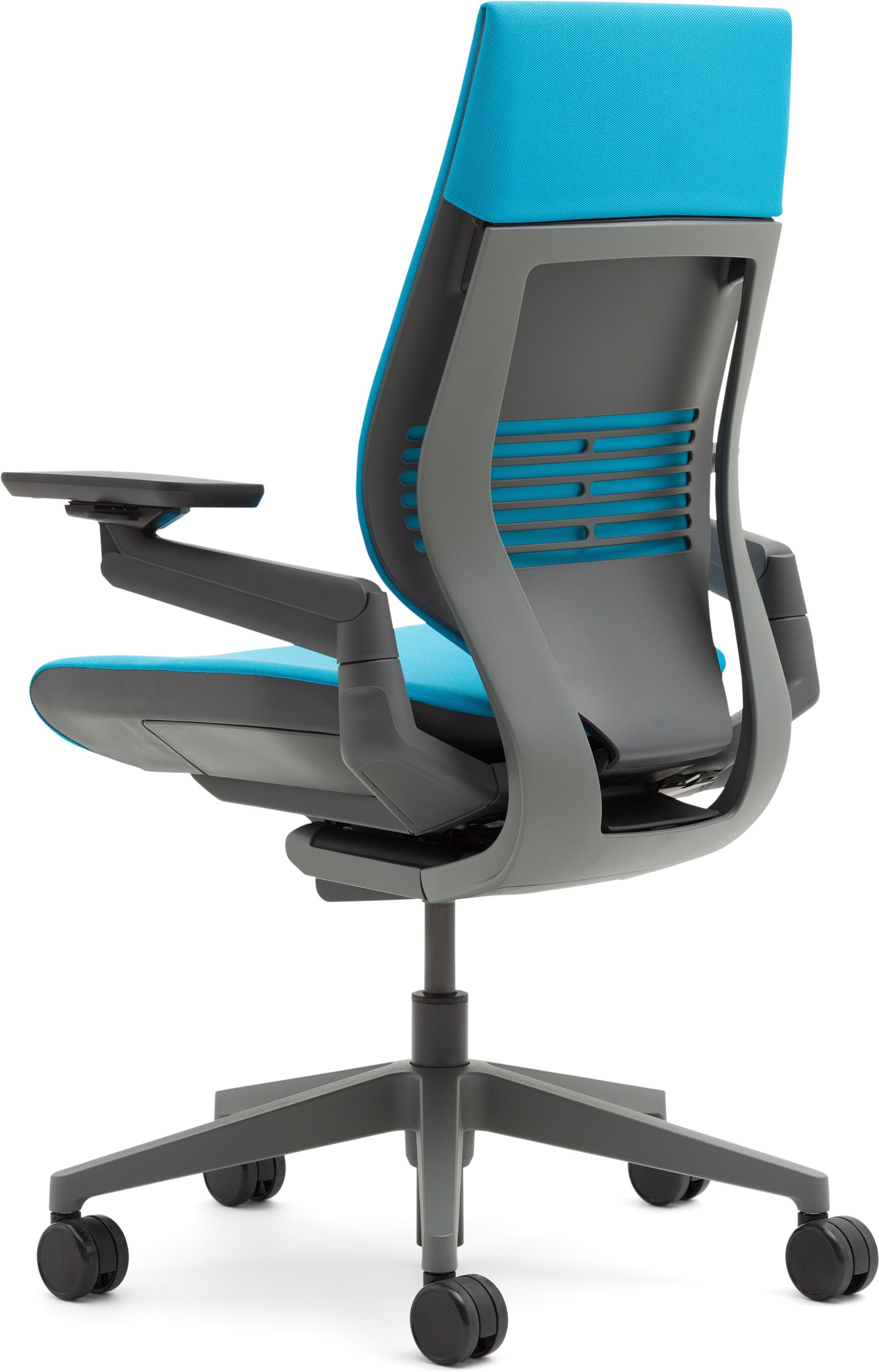 steelcase gesture chair desk makeover office