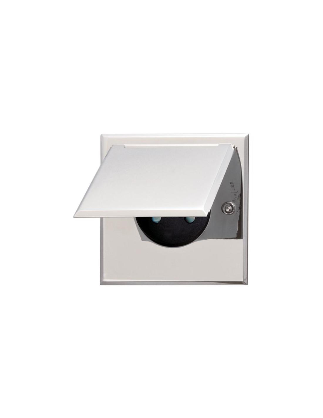 Luminaire salle de bain avec prise miroir lumineux - Miroir salle de bain lumineux avec prise de courant ...