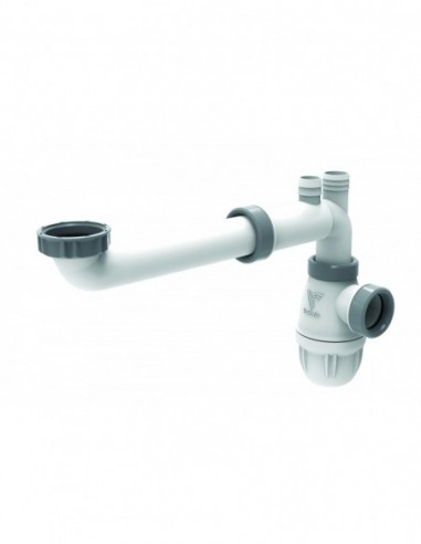 tubulure connectic gain de place pour lavabo sortie d 32 mm totalement reglable nf lot de 50 pieces
