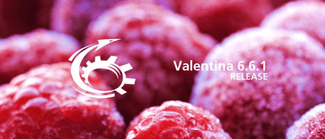 Valentina 6.6.1 for SQLite, Raspberry PI