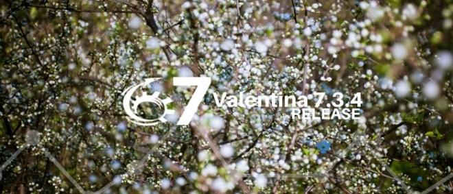 Valentina 7.3.4 Update