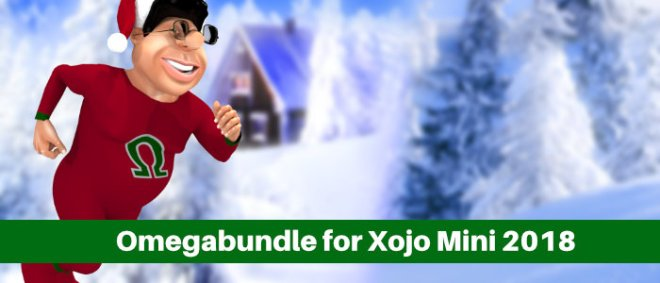 Omegabundle for Xojo Web Mini 2018