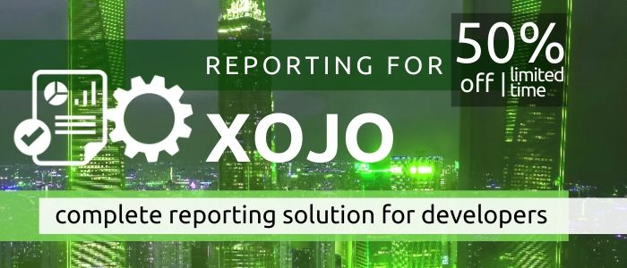 Reporting for Xojo for Best, Data Driven Reports