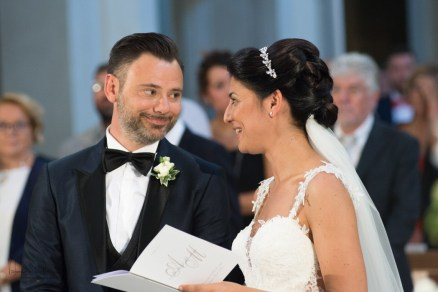 sguardo complice fra sposi