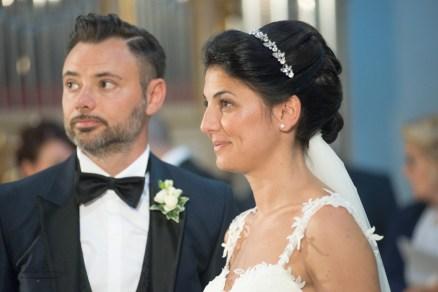 primo piano sposi