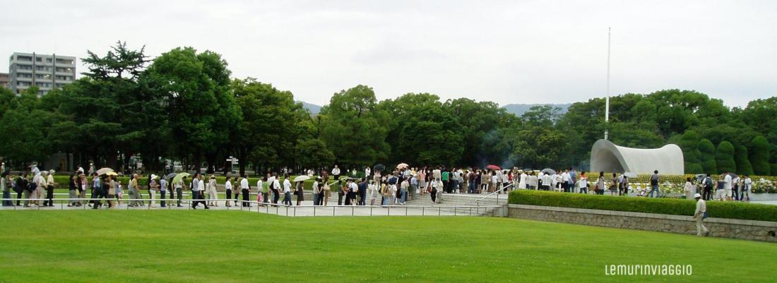 (Commemorazione ad Hiroshima)