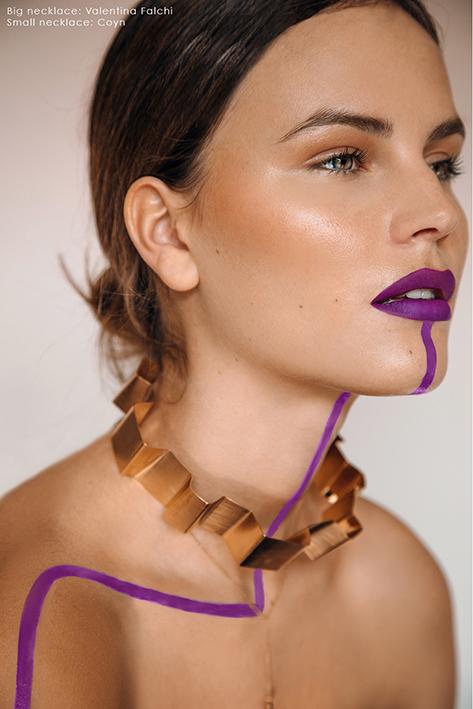 Flanelle Magazien Valentina Falchi Jewellery