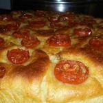 Pici con crema di zucchine e pancetta croccante