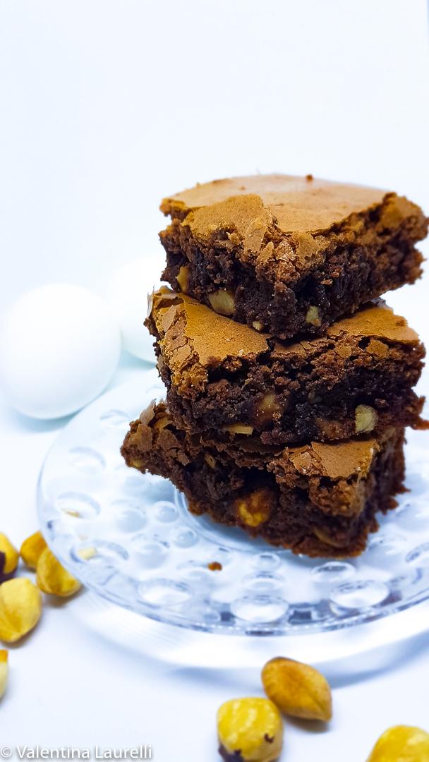 Brownies al caffè ( ricetta con e senza Bimby)