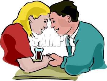 clip art of man and woman