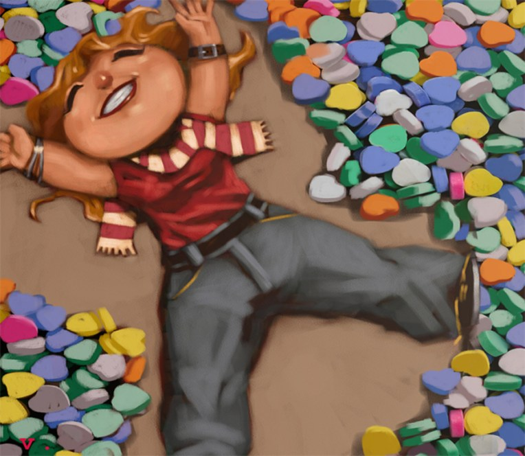 0031 Chalk Heart Angels