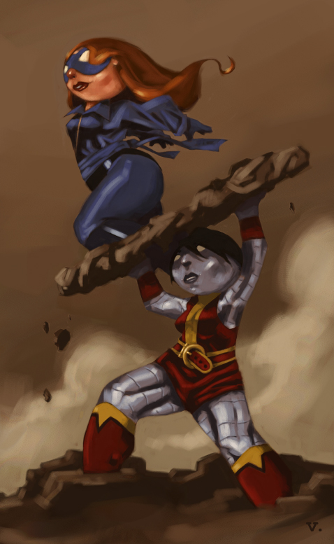 0035 Colossus and Shadowcat