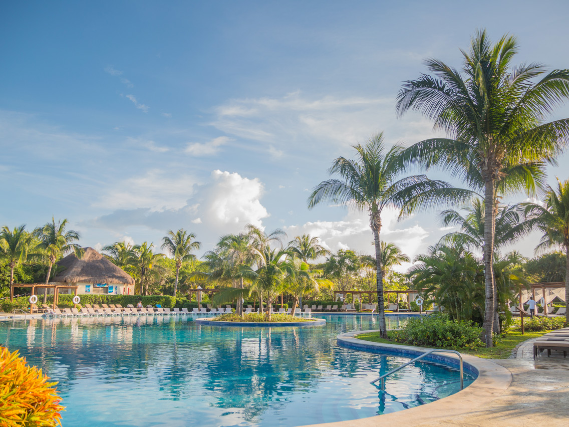 Pin Valentin Imperial Resort In Riviera Maya Mexico On