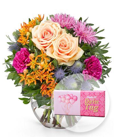Geburtstagsblumen Blumenstrauß Zum Geburtstag Verschicken