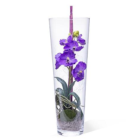 DekoVase Orchidee lila 50 cm  jetzt bestellen bei