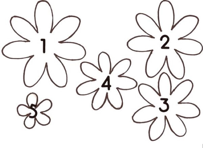 Flores em EVA: Como Fazer Passo a Passo, Moldes, Modelos