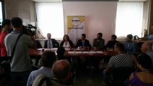 conferenza m5s regione campania