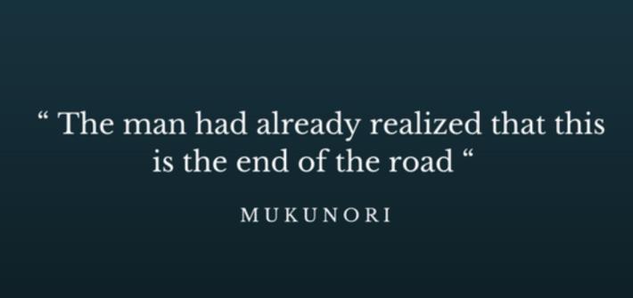 Quote Mukunori, acquaintance of Mugabe