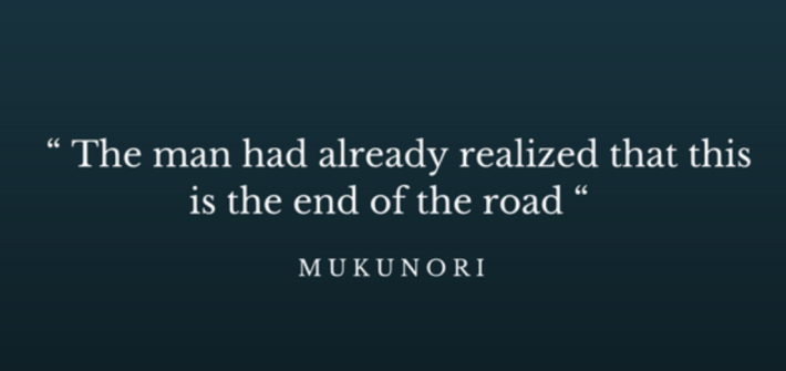 Quote Mukunori, acquaintance of Mugabe