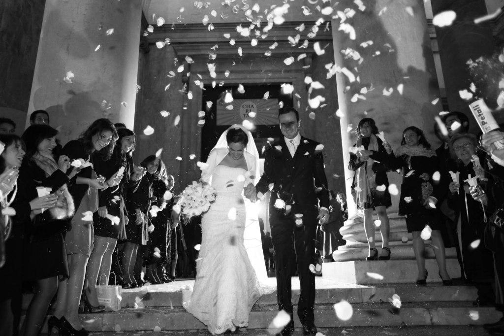 Lancio di petali durante le nozze - Valeria Manzoni - fotografo matrimonio napoli