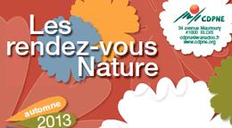 Logo RDV nature CDPNE