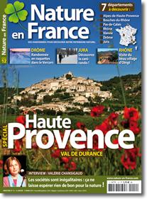 """Couverture """"Nature en France"""""""
