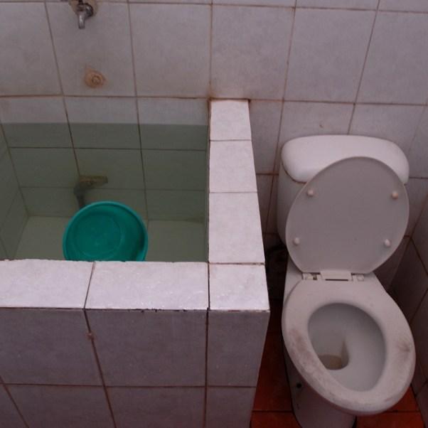Toilettes publiques, Ile de Java