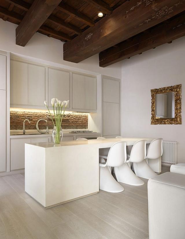 Weisse Wohnung Ideen Gestaltung Kuche Casa Carola Vannini