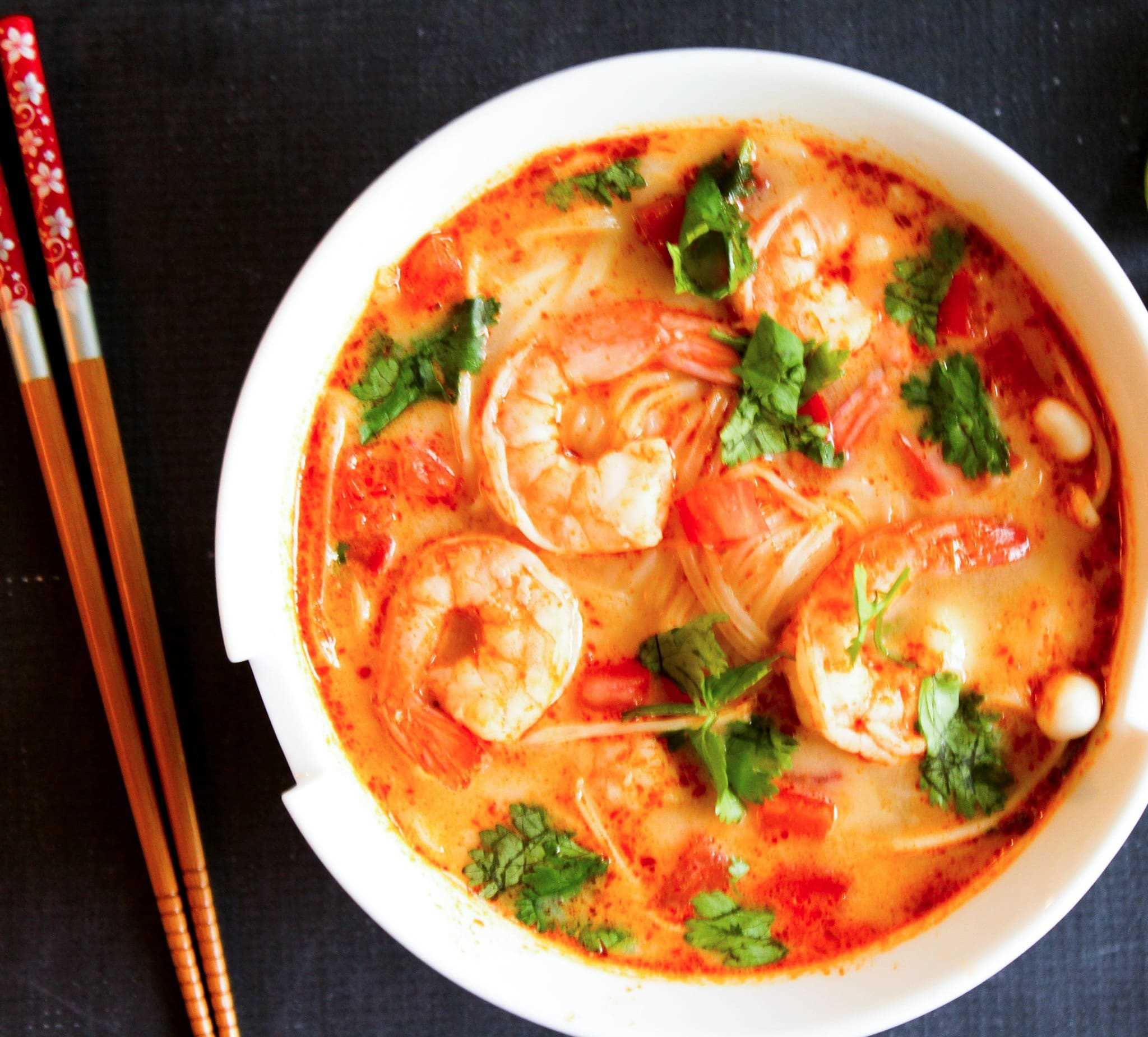 Image result for tom yum soup