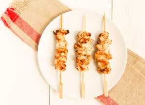 Shish Taouk Chicken Kebabs