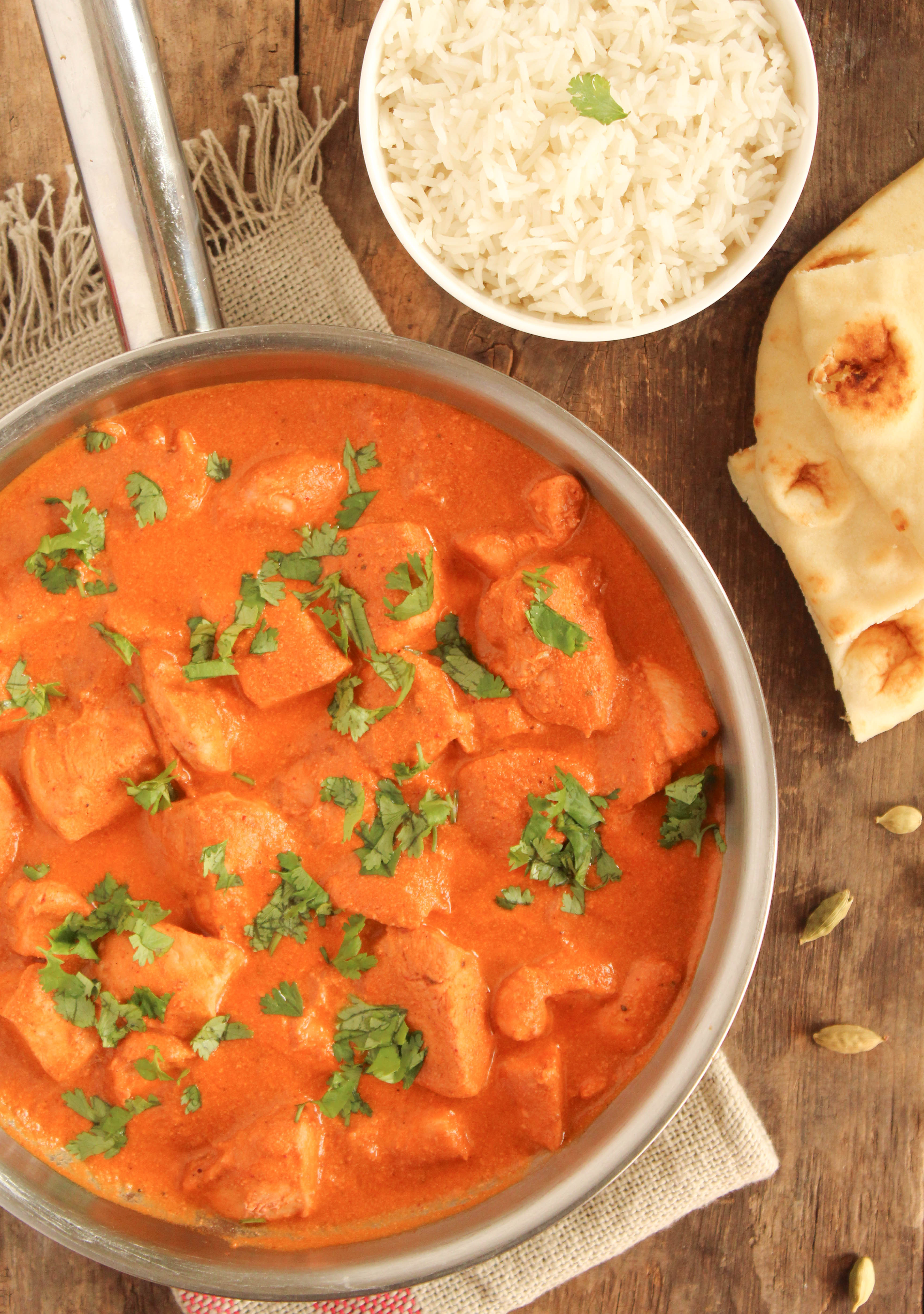 Easy butter chicken curry valeries keepers forumfinder Gallery