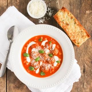 meatball tomato soup