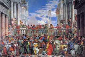Paolo Veronese's authentic Wedding at Cana