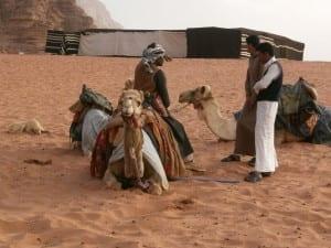 Bedouins in Wadi Rum