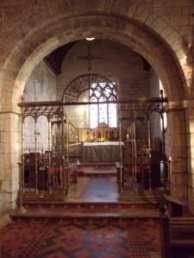 St. Andrew's interior with Norman arch