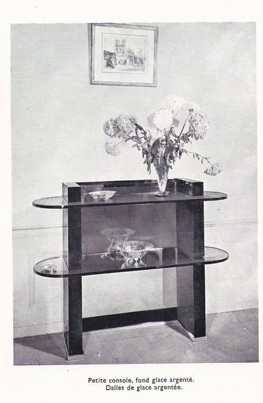 Hanging Console By Leleu Jules Furniture Valerio Art Deco