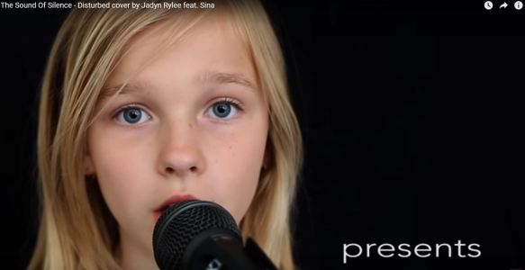 The Sound Of Silence – Disturbed cover by Jadyn Rylee feat. Sina