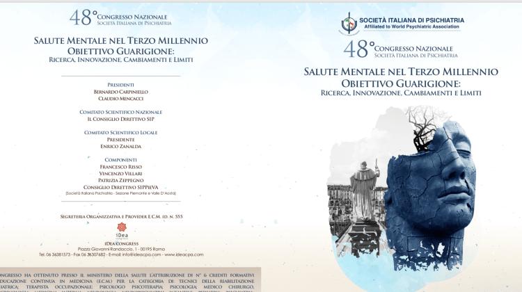 Il programma completo del 48° Congresso nazionale Società Italiana di Psichiatria 13-17 ottobre 2018