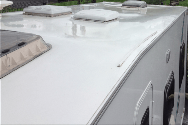 Roof Cleaned