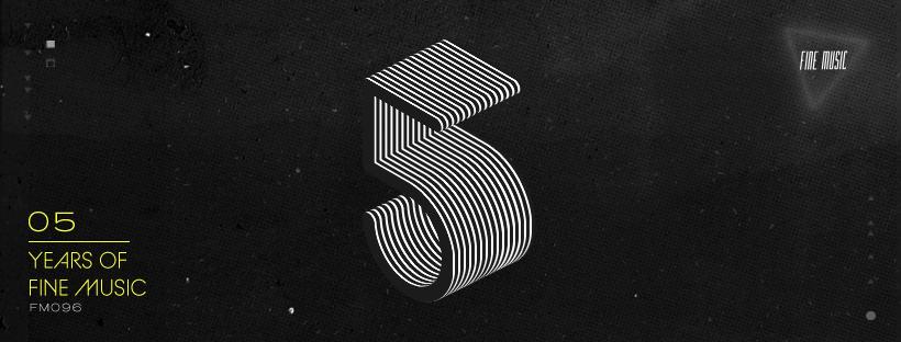 El sello Peruano FINE MUSIC celebra su 5to aniversario presentando el compilado 5 YEARS OF FINE MUSIC, que junta 08 flamantes cortes de grandes productores.