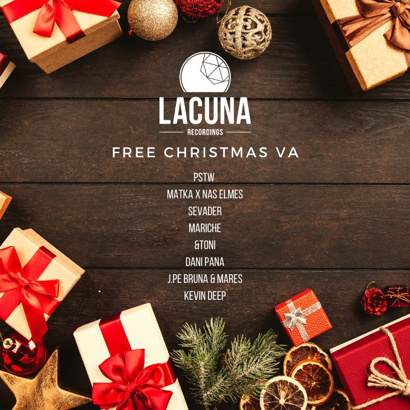The label LACUNA RECORDINGS releases for the 2nd year in a row the FREE CHRISTMAS VA compilation. A VA that brings together the best tracks from great artists of the global scene as a way of gratitude for all the support received.