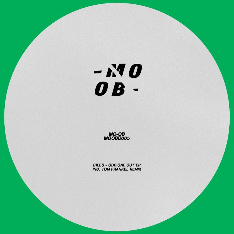 El artista londinense BILES debuta el 5to lanzamiento del sello de Tenerife MO-OB Music titulado ODD'ONE'OUT EP, incluyendo un remix de Tom Frankel.